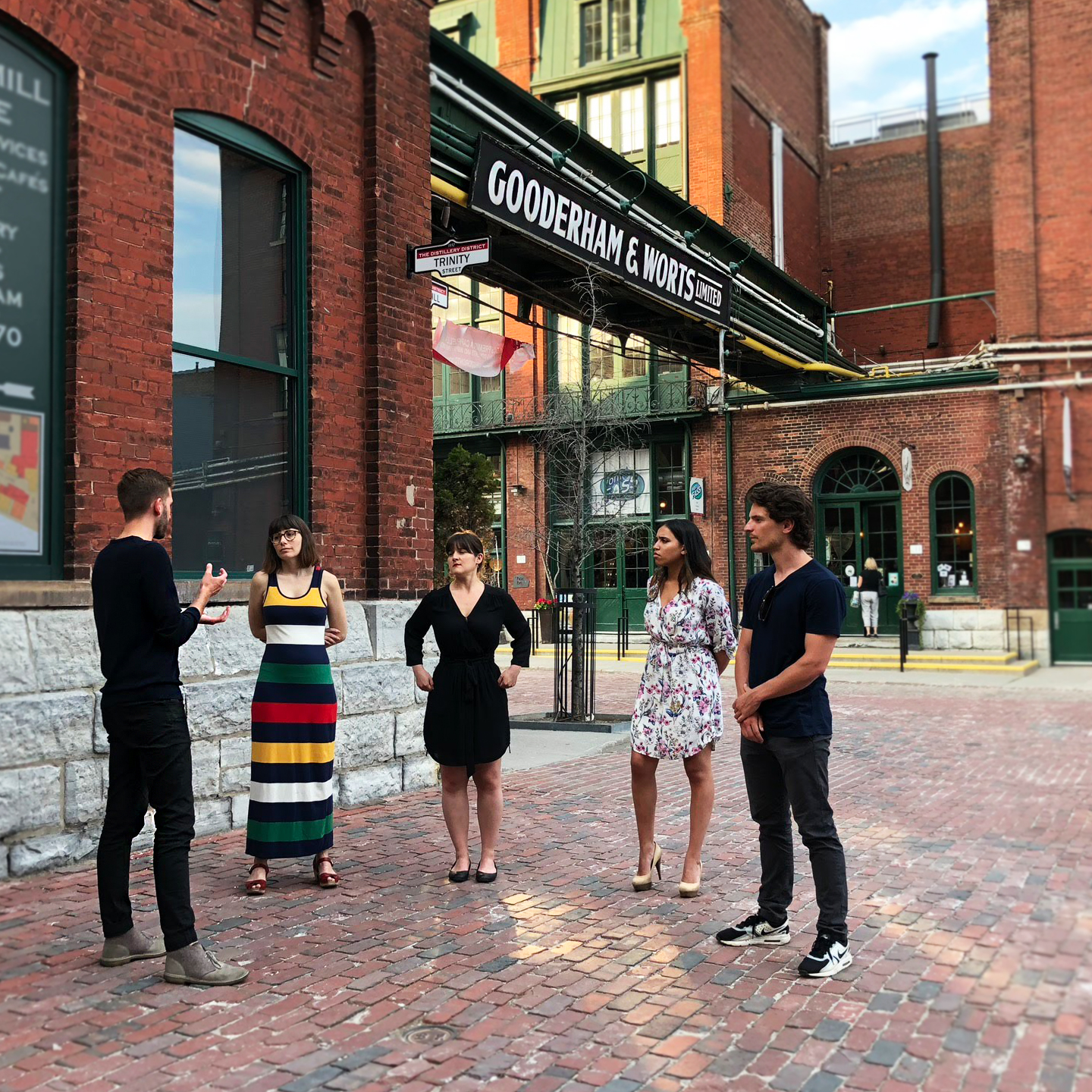 Toronto Food Tours Distillery District Toronto