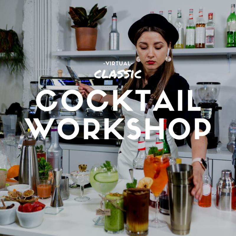 Virtual Cocktail Workshop