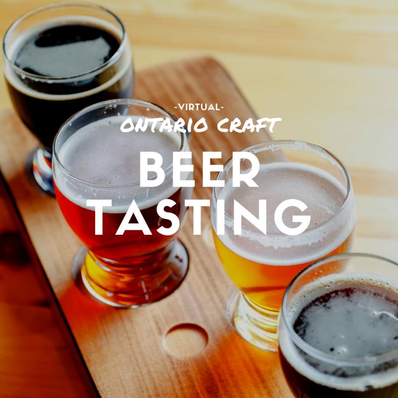 Virtual Craft Beer Tasting Toronto
